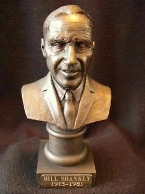 Bill Shankly Liverpool Fc Manager Beautiful Collectors Figurine Bust Model