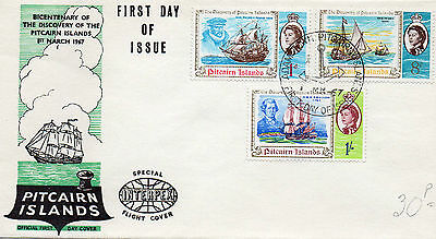 1967 Pitcairn Islands First Day of Issue cover