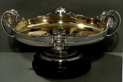 Tiffany Sterling Compote          EGYPTIAN REVIVAL                 1870
