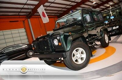 2002 Land Rover Defender  02 LAND ROVER DEFENDER RIGHT HAND DRIVE MANUAL