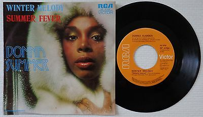 """DONNA SUMMER 'Winter Melody' 1977 Mexican 7""""/45 rpm vinyl single"""