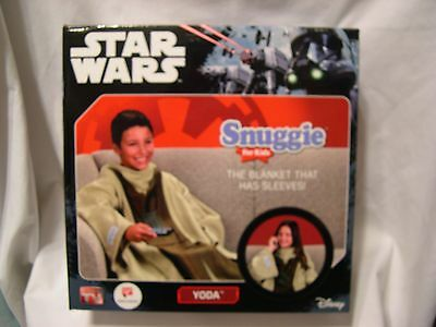 New! STAR WARS kids Snuggie YODA super soft blanket with sleeves