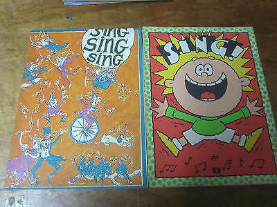 ABC Songbooks THE SING BOOK 1985 and 1988(2) Australian Broadcasting Corp.