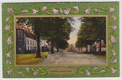 Ormiston Looking West:~1910-14 Vintage PPC, Tinted Collo PPC by Pace, VG Used.