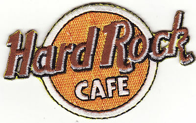 Hard Rock Cafe Embroidered Iron On Music Patch *New*