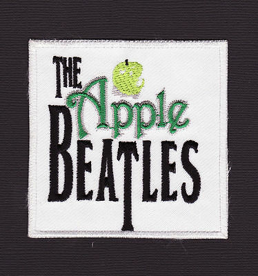 """The Apple Beatles 3x3"""" Rock Music Iron On Patch *New*"""