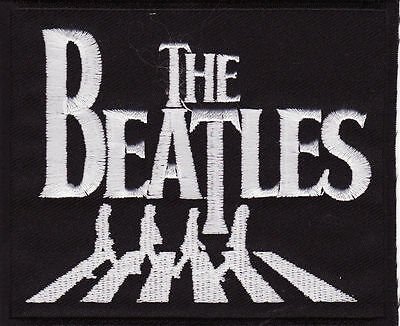 """The Beatles 3 7/8"""" x 3 1/4"""" Rock Music Iron On Patch *New*"""