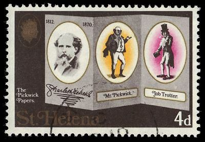 """ST. HELENA 232 (SG249) - Charles Dickens """"The Pickwick Papers"""" (pa61061)"""