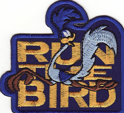 Beep Beep Plymouth Road Runner Run The Bird Embroidered Iron On Patch *New*