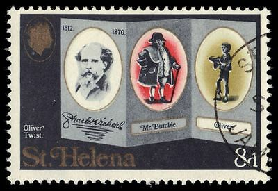 """ST. HELENA 233 (SG250) - Charles Dickens """"Oliver Twist"""" (pa61062)"""
