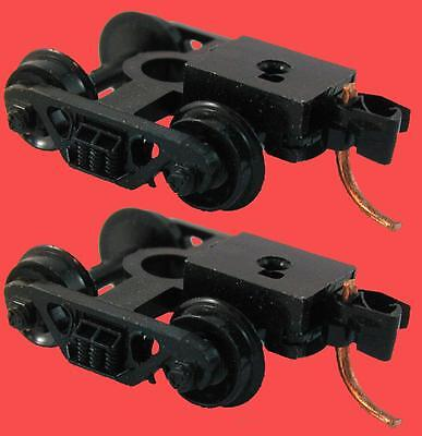 Barber Roller Bearing Trucks W/couplers (Pair) 1035 Micro-Trains N Scale