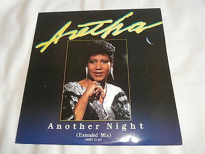"""Aretha Franklin Another Night 12"""" Single"""