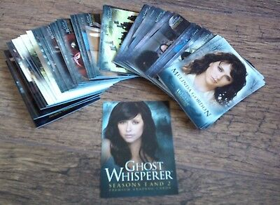 Ghost Whisperer Seasons One & Two Trading Cards The Complete Base Set.
