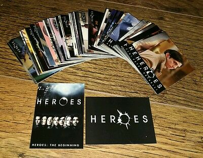 Heroes Volume/Season One Trading Cards The Complete Base Set.
