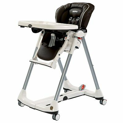 Peg-Perego Prima Pappa Best High Chair, Cacao Brand New!