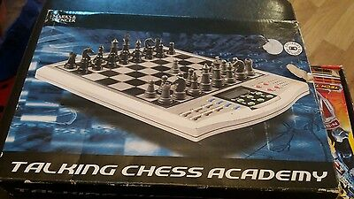 Talking Chess Academy Lcd Teaching Voice Computer Electronic Magnetic