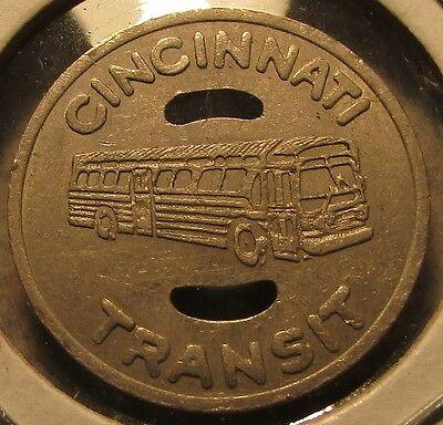 1970 Cincinnati, OH Transit Bus Token - Ohio