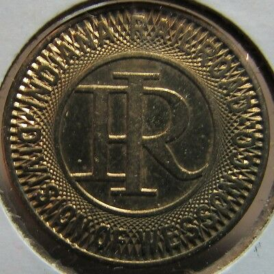 1948 Indiana Railroad Muncie, IN Transit Trolley Token - Indiana Ind.