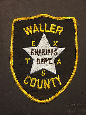 Waller County Texas Sheriff Patch