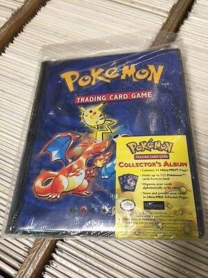 Pokemon Collector's Album Card Binder (1999) FACTORY SEALED