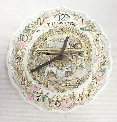 ROYAL DOULTON Brambly Hedge Plate Clock - M12