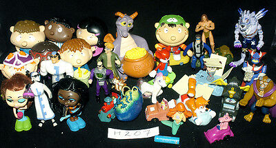 Vintage Action Figures Fantastic Selection Including A Dragon Money Box Ref H207