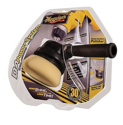 Meguiars DA PowerSystem Drill Activated Dual Action Polisher Wax Polish Compound