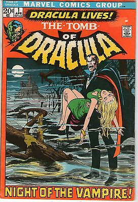 TOMB OF DRACULA # 1 - 1st APPEARANCE OF DRACULA  ( ND - 1972  )