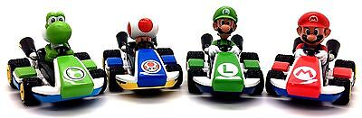 Nintendo MARIO KART 8 Pull Back Action & Speed Car in Variuos Characters