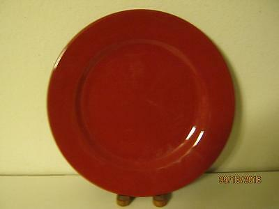 """Two {2} Waechtersbach Germany Fun Factory Red 11"""" Dinner Plates (Clearance)"""