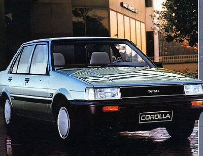 1984 Toyota Corolla Factory Photo ca6105