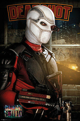 SUICIDE SQUAD Poster - DEADSHOT - NEW SUICIDE SQUAD MOVIE POSTER FP4157