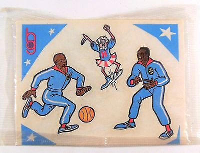 1970 Harlem Globetrotters Cereal Premiums Stickers CBS Animated Show