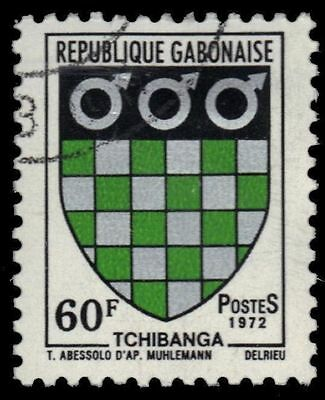 GABON 293 (Mi476) - Tchibanga Coat of Arms (pa69160)