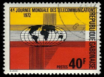 GABON 294 (Mi477) - World Telecommunications Day (pf84110)