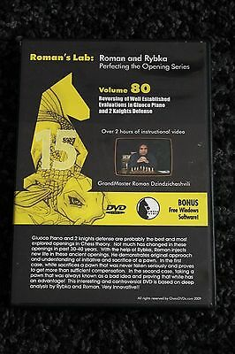 Chess DVD - Roman's Lab Vol 80 - Guioco Piano and 2 Knights Defence