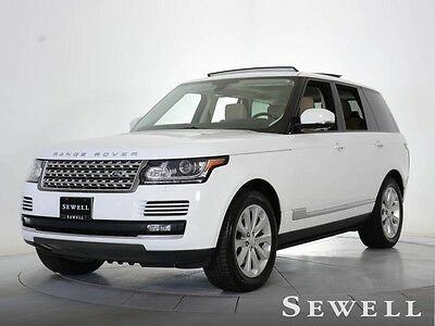 2015 Land Rover Range Rover  UPERCHARGED NAVIGATION VISION & DRIVER ASSIST PKGS CALL GREG 214-353-2806