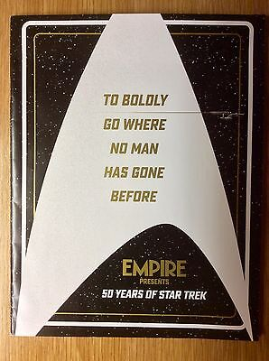 50 Years of Star Trek  -  Collectible Magazine / Brochure from Empire  -  New
