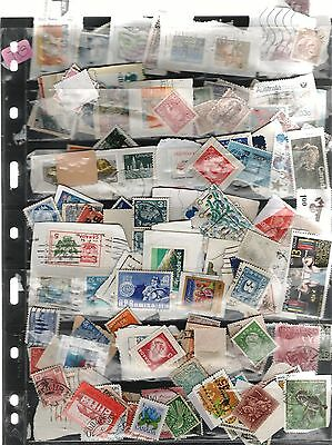 :Mix of Worldwide stamps 100 +  (J83)