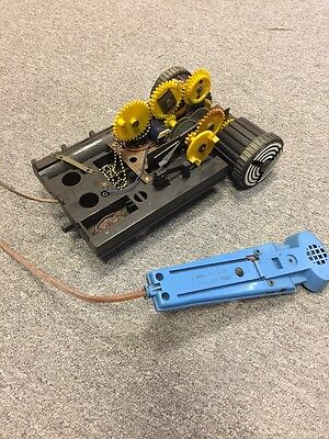 Vintage Ideal Robot Commando Base Structure And Remote Only Parts