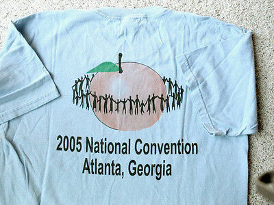 T-Shirt Girl Scouts 50th NATIONAL CONVENTION Atlanta 2005 Official GSUSA