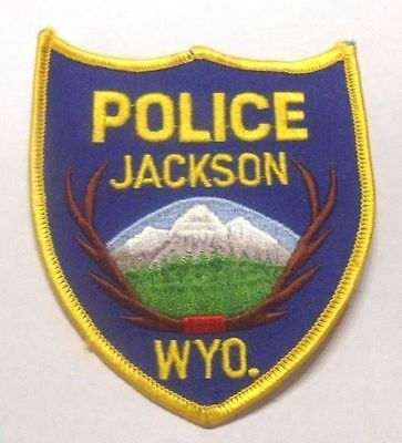 Jackson Wyoming Police  Shoulder Patch