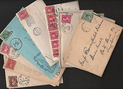 US 19 Century +  Postal History Collection /Accumulation 14 Covers with Letters