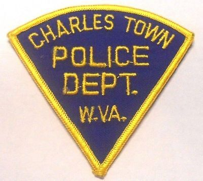 Charles Town West Virginia Police  Shoulder Patch