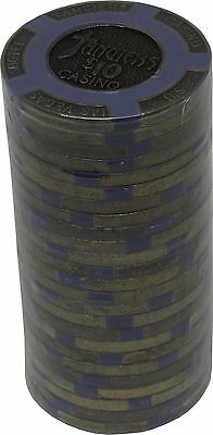 Poker Chips (25) $10 Tangiers 16 gram Brass insert Clay Composite FREE SHIPPING*