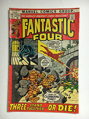 Fantastic Four #119  G+  Marvel comic 1971 Black Panther