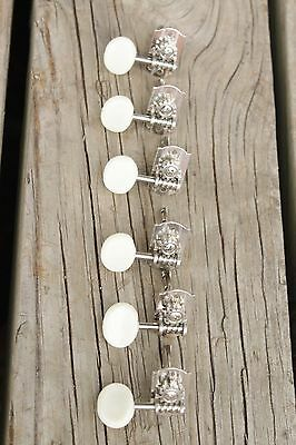 Vintage Norma Silvertone Harmony Decca and other 6 inline Tuners Tuning Keys