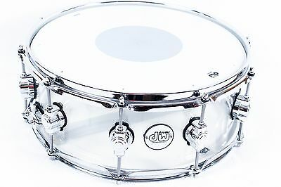 DW Design Series Acrylic Snare Drum 14""