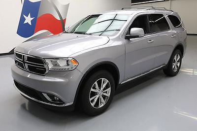 2016 Dodge Durango  2016 DODGE DURANGO LTD AWD LEATHER NAV REAR CAM 19K MI #433301 Texas Direct Auto