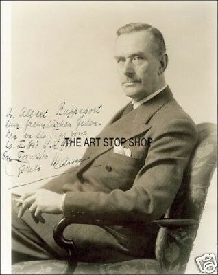 Authentic Thomas Mann  Signed  Reprint